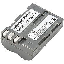 Inov8 R-C-B de Ion de litio de repuesto batería para cámara Digital Fuji NP-150 (2 unidades)