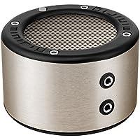 MINIRIG MINI Portable Rechargeable Bluetooth Speaker - 30 Hour Battery - Premium Stereo Sound - Brushed Aluminium
