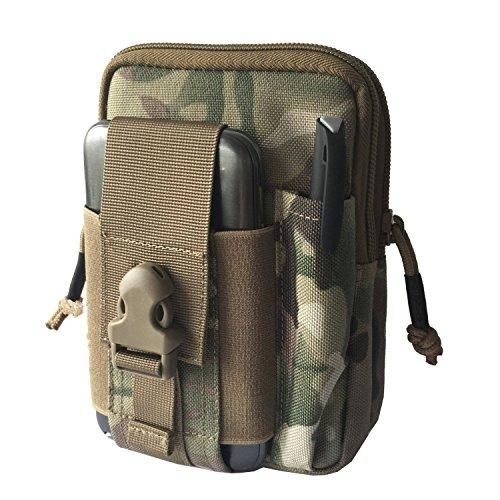 Geniales Nylon Wasserdicht EDC KOMPAKT Mehrzweck Tactical MOLLE Mobile Gadget Outdoor Sport Casual Taille Pack für Männer/Frauen