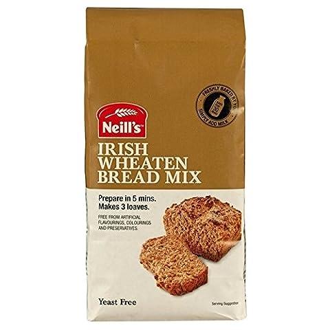 Neill's Irish Wheaten Bread Mix 1kg - Pack of 6 - Pane Lievito Per Dolci