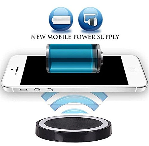 Wireless Ladegerät Induktive - Ladestation Qi Charger Galaxy Note8, Apple iPhone X, iPhone 8, iPhone 8 Plus, Samsung Galaxy S8, Galaxy S8 Plus, Galaxy S3, Galaxy S5, Galaxy S6 Edge, Samsung Galaxy S6, Samsung Galaxy S7, Samsung Galaxy S7 Edge, Samsung Galaxy Note 5, ZTE Grand S, Sony Xperia Z3, Sony Xperia Z4, LG G5, LG Google Nexus 5, Google Nexus 5, Google Nexus 6, Google Nexus 7 Google Nexus 7 HD Microsoft Lumia 735, Microsoft Lumia 950, Microsoft Lumia 950 XL, Motorola Moto 360 (32gb Nokia 1020)