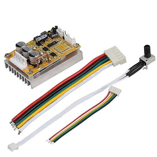 5 V-36 V 350 Watt Breite Spannung 3-phasen-sensorless BLDC Motor Controller Board Brushless ESC Motor Driver Modul mit Kühlkörper (3-phasen-motor-spannung)