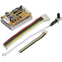 Controlador de Motor sin Cepillo Placa de Conductor de BLDC PWM Controlador de Motor de Voltaje Trifásico sin Sensor 5V-36V 350W