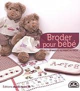 Broder pour bébé : 50 idées et motifs au point de croix