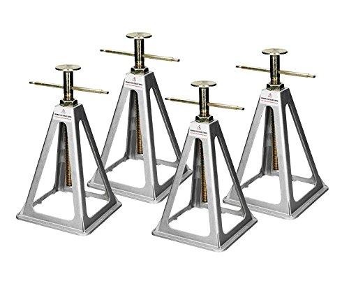 Stützbock Alu Unterstellbock Stützböcke Stützfuß für Wohnwagen Anhänger Trailer