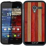 Hülle für Motorola Moto X (Generation 1) - Holz by Warp9