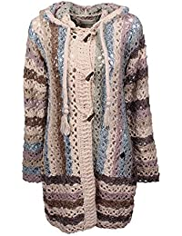 khujo Damen Strickjacke Laddy Chunky Cardingan Knit
