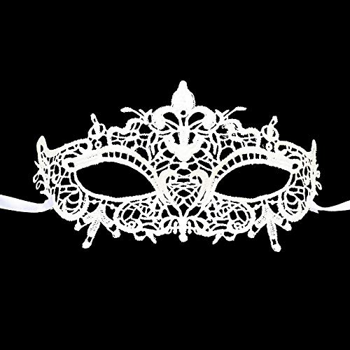LBAFS Halloween Maske Erwachsene Damen Party Spitze Hohl Sexy Spaß Augenmaske Requisiten Für Ball Club Dress ()