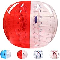 PVC Bumper Ball Human Hamster Ball Bubble soccer Zorb Ball , red , 1.8m