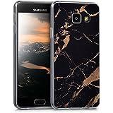 kwmobile Étui transparent pour Samsung Galaxy A3 (2016) Housse de protection en TPU silicone design IMD - cover souple pour portable Design marbre