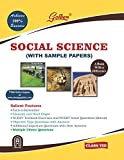 Golden Social Science: With Sample Papers) A book with a Difference for Class- 8 (For 2019 Final Exams)