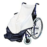 Wheelchair Cosy Wrap Fleece Cover Waterproof Cosy Lined Leg Cover - 41x9x38.5 by Pharmore Mobility