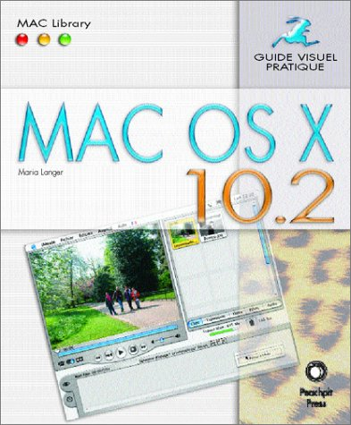 Mac OS X 10.2 par Maria Langer