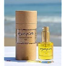 Aceite de ARGAN Cosmetico 100% Puro [_Dosificador 30 ML_], BIO, 1ª Presion en Frio, para piel y cabello.