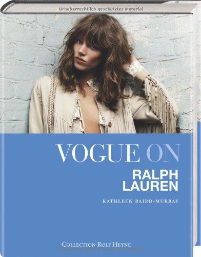 Vogue American Designer-muster (Vogue on Ralph Lauren)