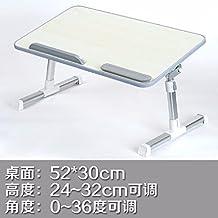 Cama con escritorio del ordenador portátil, mesa lazy, escritorio plegable y abatible, escritorio dormitorio college,2