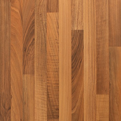 Küchen-Arbeitsplatte, Walnuss-Effekt, Laminat, braun, Worktop Edging Strip - 1530mm x 45mm
