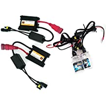 Kit de luces de xenón slim HID H76000K de 35W blanco hielo para automóvil color