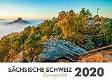 Sächsische Schweiz kompakt 2020 - Elbsandsteingebirge: Tischkalender -