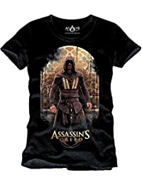 T-shirt Assassins Creed Callum Lynch coton noir - L
