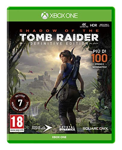 Shadow of The Tomb Raider Definitive Edition - Complete - Xbox One