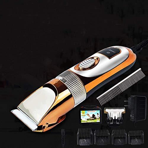 AA- cattle dog grooming Hundepflege Clippers für Haustiere | Cat Hair Trimmer Kit - Beste schnurlose Hundeklipper geräuscharm | Professionelles, leises wiederaufladbares Rasierwerkzeug -