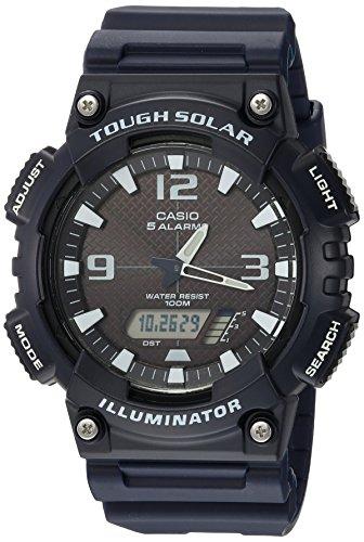 Casio AQ-S810W-2A2VCF Tough Solar Analog-digital Watch For Unisex