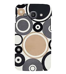 PrintVisa Round Circle Pattern 3D Hard Polycarbonate Designer Back Case Cover for Samsung Galaxy Ace 3 :: Samsung Galaxy Ace 3 S7272 Duos :: Samsung Galaxy Ace 3 3G S7270 :: Samsung Galaxy Ace 3 LTE S7275