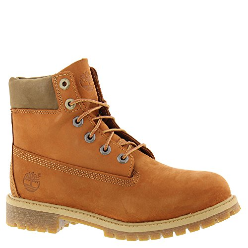 Timberland 6 in Classic Boot FTC_6 in Premium WP Boot 14749, Unisex-Kinder Stiefel Orange (Dark Orange Nubuck)
