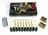 X-MAS Art Collection 10 kabellose LED Kerzen inkl. Batterien und Fernbedienung