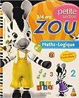 Je vais à l'école avec Zou - Maths-Logique - Petite section