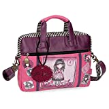 Gorjuss Sugar and Spice Mochila Escolar, 33 cm, 4.54 litros, Morado