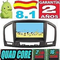 Opel Insignia Modelo CD200 / CD400 / CD600 Android 8.1 Quad Core 2GB RAM 16 GB ROM GPS Radio Coche DVD AUTORADIO WiFi 3g 4g navi navegador AÑO: 2008 2009 ...