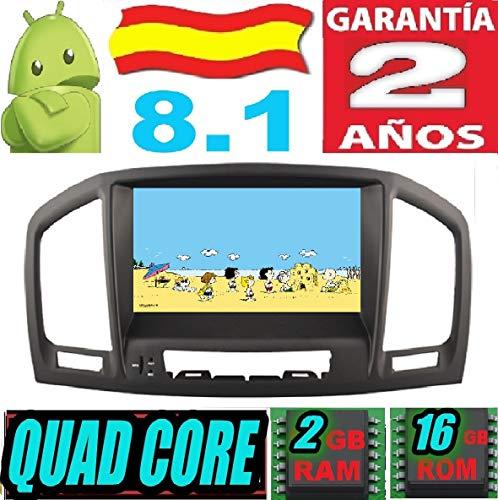 Opel Insignia Modelo CD200 / CD400 / CD600 Android 8.1 Quad Core 2GB RAM 16 GB ROM GPS Radio Coche DVD AUTORADIO WiFi 3g 4g navi navegador AÑO: 2008 2009 2010 2011 2012