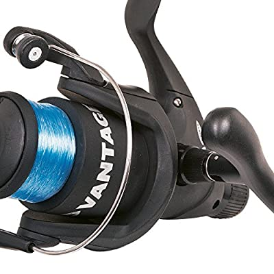 FLADEN VANTAGE 45 RD130 / RD140 & RD150 (1BB) Rear Drag Fixed Long Cast Spool Spinning Reel Pre-Spooled 6-8lb line on (Spare Spool) - Coarse & Freshwater by FLADEN