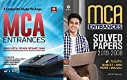 COMBO PACK OF A Complete Study Package for MCA Entrances GUIDE WITH MCA SOLVED PAPERS FOR 2020 EXAMINATION