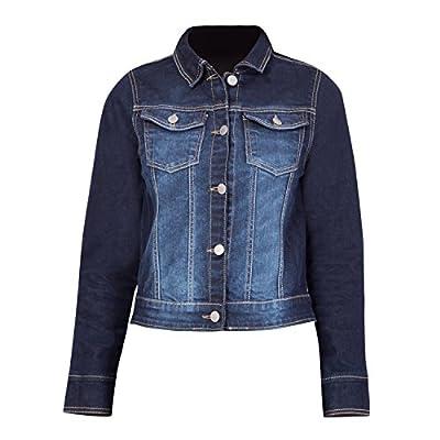 Kopyneko Full Sleeve Short Cropped Denim Jacket for Teenagers | Girls Age 12 to 16 Years | Winter Wear