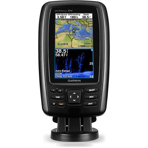 00 Garmin-autopilot (Garmin 010-01281-00 echoMAP 42dv Radar mit Heckgeber)