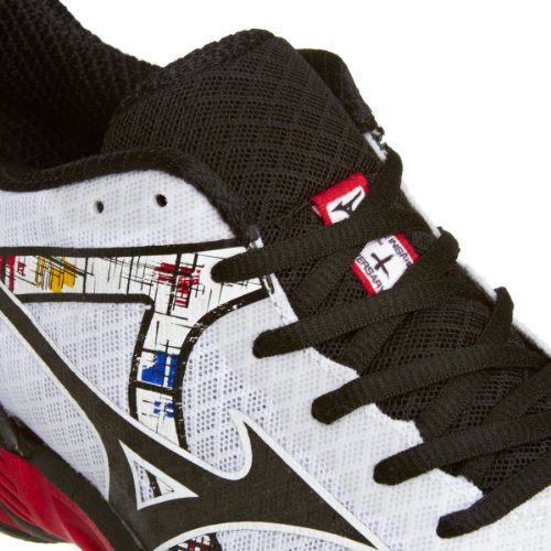 MIZUNO Wave Inspire 10 Scarpa da Running Uomo Bianco/Nero