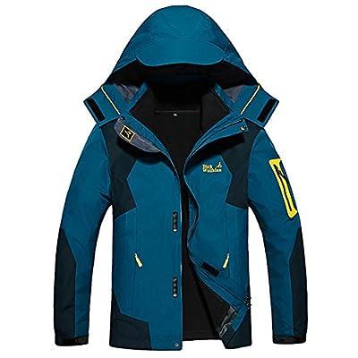 3 in 1 Softshelljacke Herren Wasserdicht Atmungsaktiv Funktionsjacke Warm Doppeljacke Outdoorjacke Damen Winter Skijacke