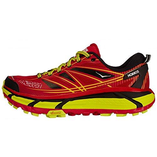 Hoka - Chaussures Trail Mafate Speed 2 Homme Hoka ROUGE
