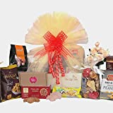 The Gift Tree Ultimate Indulgence and Fragnance Hamper | Candles, Cookies, Peanut Butter | Potpourri | Gift for Festivals, Bi