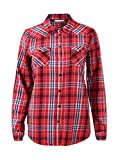 TOM TAILOR Denim für Frauen Blusen, Shirts & Hemden Kariertes Hemd Red Check, L