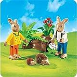 PLAYMOBIL® 4454 - 2 Osterhäschen mit Eierversteck