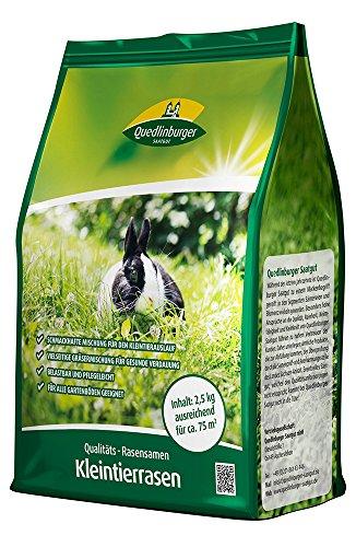 Rasensamen - Kleintierrasen 2,5 kg von Quedlinburger Saatgut