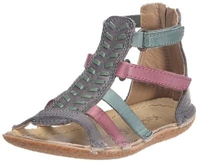 kickers papaye v sandales fille gris multicolore 25 eu chaussures et sacs. Black Bedroom Furniture Sets. Home Design Ideas