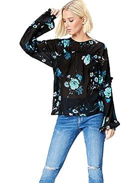 FIND Blusa Estampada Para Mujer