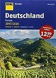 ADAC Reiseatlas Deutschland, Europa 2019/2020 1:200 000 (ADAC Atlanten)