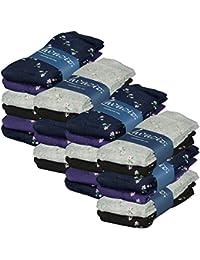 Lavazio® 6 | 12 | 18 | 24 Paar warme und kuschlige Damen Thermosocken in 4 Farben