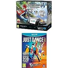 Nintendo Wii U - Consola Premium Pack Mario Kart 8 (Preinstalado) + Just Dance 2017 (Físico)